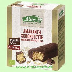 Amaranth Schokolette-Zartbitter (Allos)