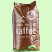 Röstkaffee, ganze Bohne (dennree)