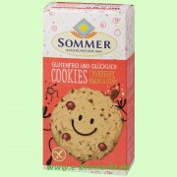 Cookies Cranberry, Mandel & Sesam - glutenfrei (Sommer & Co.)