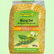 Mung Dal, Mungbohnen halb, geschält (Rapunzel)