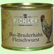 Bruderhahn Bio-Fleischwurst Klassik (Pichler)