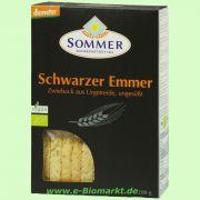 schwarzer Emmer Zwieback, ungesüßt (Sommer)