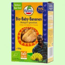 Baby-Bananen getrocknet - RAW (KIPEPEO)