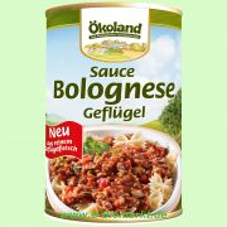 Sauce Bolognese Geflügel (Ökoland)