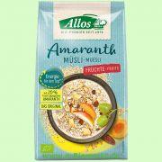 Amaranth Früchte Müsli (Allos)
