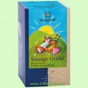 Sonnige Grüße Tee - Kräuter-Früchteteemischung (Sonnentor)