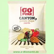 Canyon Chips Paprika - Kartoffelchips (Go Pure)