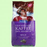 Kaffee 100% Arabica mild (bioladen*)