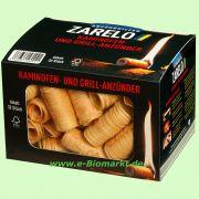 Kaminofen- & Grillanzünder aus Holzwolle (Zarelo)