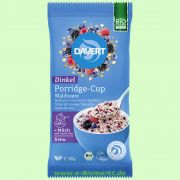 Porridge-Cup Dinkel-Waldbeere - Dinkelbrei (Davert)