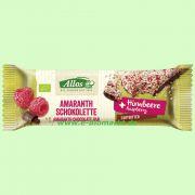 Amaranth-Schokolette mit Frucht Himbeere (Allos)