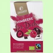 Himbeere liebt Zartbitter - Schokolade (Landgarten)