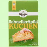 Der schnelle Apfelkuchen - glutenfreie Backmischung (Bauck Hof)