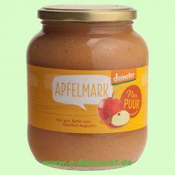 Apfelmark ungesüßt DEMETER (Nur Puur)