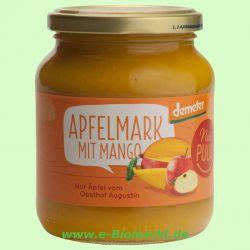 Apfelmark ungesüßt mit Mango DEMETER (Nur Puur)