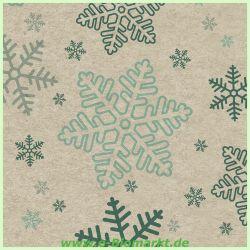 Cocktail-Serviette Snowflakes (Paper+Design)