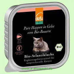Katzenfutter in Gelee Atlantiklachs (Defu)