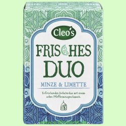 Frisches Duo Kräutertee (Cleos)