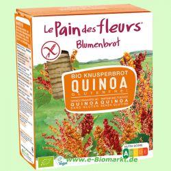 Blumenbrot Quinoa, glutenfrei (Blumenbrot)