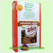 4-Korn-Vollkorn-Müsli-Keks, glutenfrei (Werz)