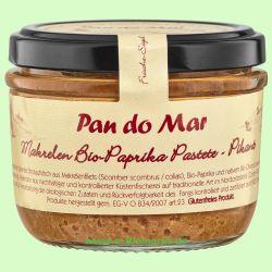 Makrelen Bio-Paprika Pastete pikant (Pan do Mar)