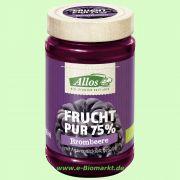 Brombeere - Frucht Pur 75 % - Fruchtaufstrich (Allos)