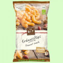 Mais-Erdnuß-Flips - Corn Snacks (De Rit)