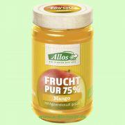 Mango - Frucht Pur 75 % - Fruchtaufstrich (Allos)