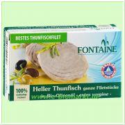 Heller Thunfisch, in Bio-Olivenöl (Fontaine)
