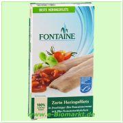 Zarte Heringsfilets, in Tomatensauce (Fontaine)