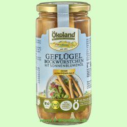 Geflügel-Bockwürstchen in zarter Eigenhaut (Ökoland)