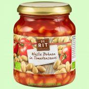 Weiße Bohnen, in Tomatensoße (De Rit)