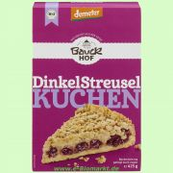 Dinkel-Streuselkuchen - Backmischung (Bauckhof)