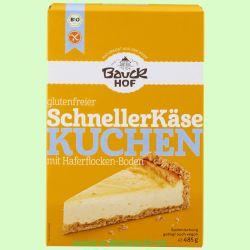 Schneller Käsekuchen, glutenfrei (Bauckhof)