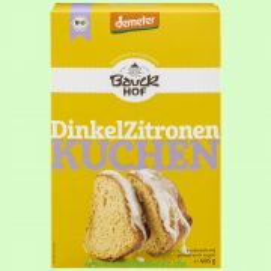 Dinkel-Zitronenkuchen - Backmischung (Bauckhof)