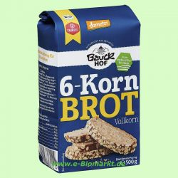6-Korn-Brot, Vollkorn (Bauckhof)