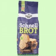 Schnellbrot mit Brotgewürz, glutenfrei - Backmischung (Bauckhof)