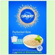 Parboiled Reis im Kochbeutel (Davert)
