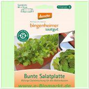 Bunte Salatplatte, demeter (Bingenheimer Saatgut)
