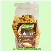 Erdnüsse, geröstet und gesalzen (dennree)