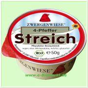4-Pfeffer Streich - vegetarischer Brotaufstrich (Zwergenwiese)
