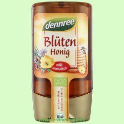 Blütenhonig in der Spenderflasche (dennree)