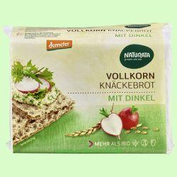 Vollkorn-Knäckebrot mit Dinkel (Naturata)