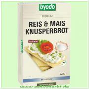 Reis&Mais Knusperbrot, mit Meersalz (Byodo)