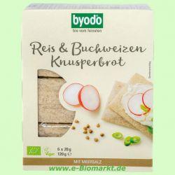 Reis & Buchweizen Knusperbrot (Byodo)