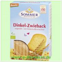 Dinkel Zwieback ungesüßt (Sommer & Co.)