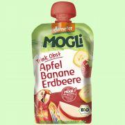 Trink Obst Apfel-Banane-Erdbeere DEMETER (Mogli)