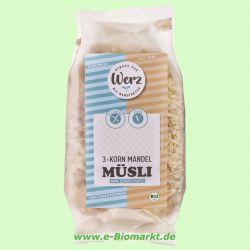 3-Korn-Vollkorn-Mandel-Müsli, glutenfrei (Werz)
