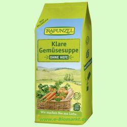 Klare Suppe ohne Hefe (Rapunzel)