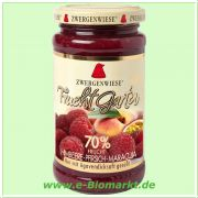 Himbeere-Pfirsich-Maracuja FruchtGarten, 70% Fruchtanteil (Zwerg